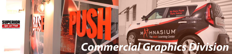 commercial graphics division signs