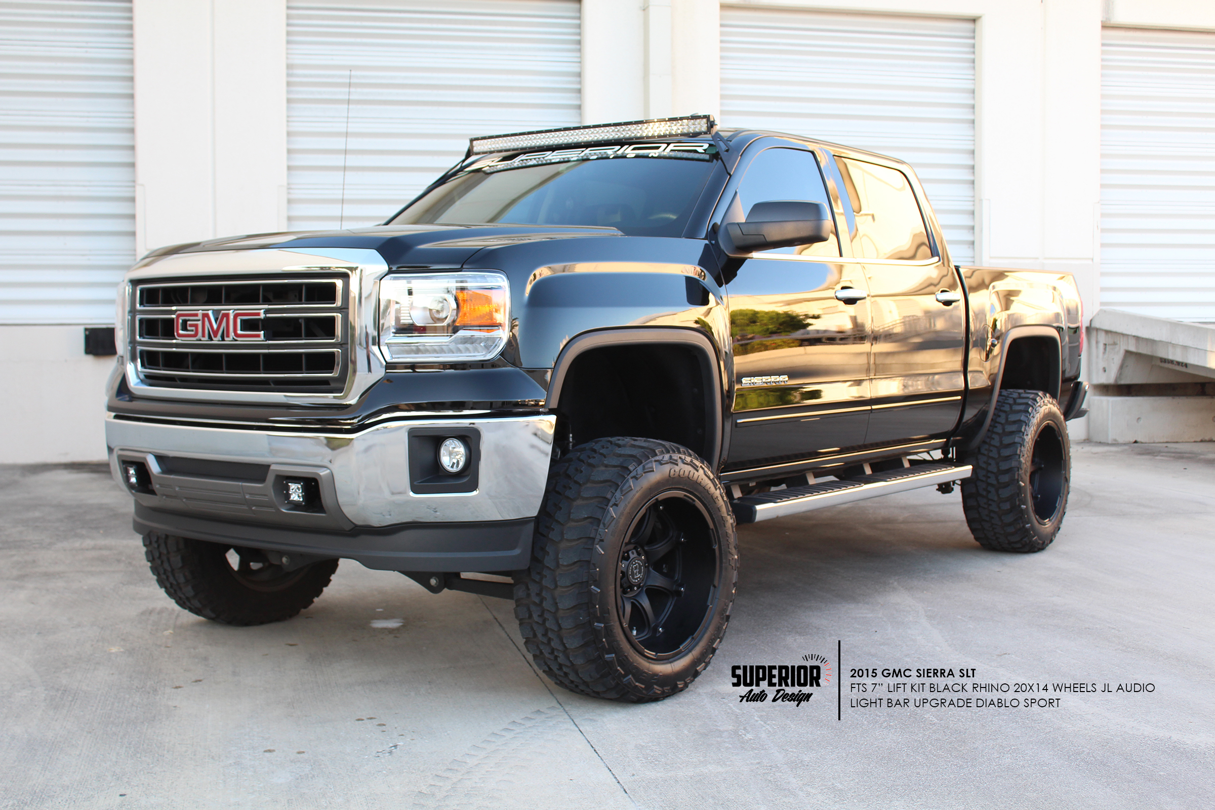 GMC LIFTED TRUCK SUPERIOR AUTO DESIGN 2