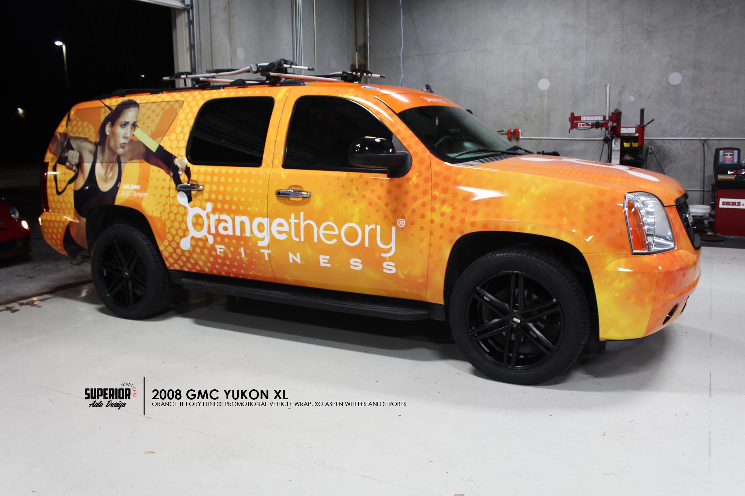 ORANGE THEORY FITNESS YUKON WRAP SUPERIOR AUTO DESIGN 1