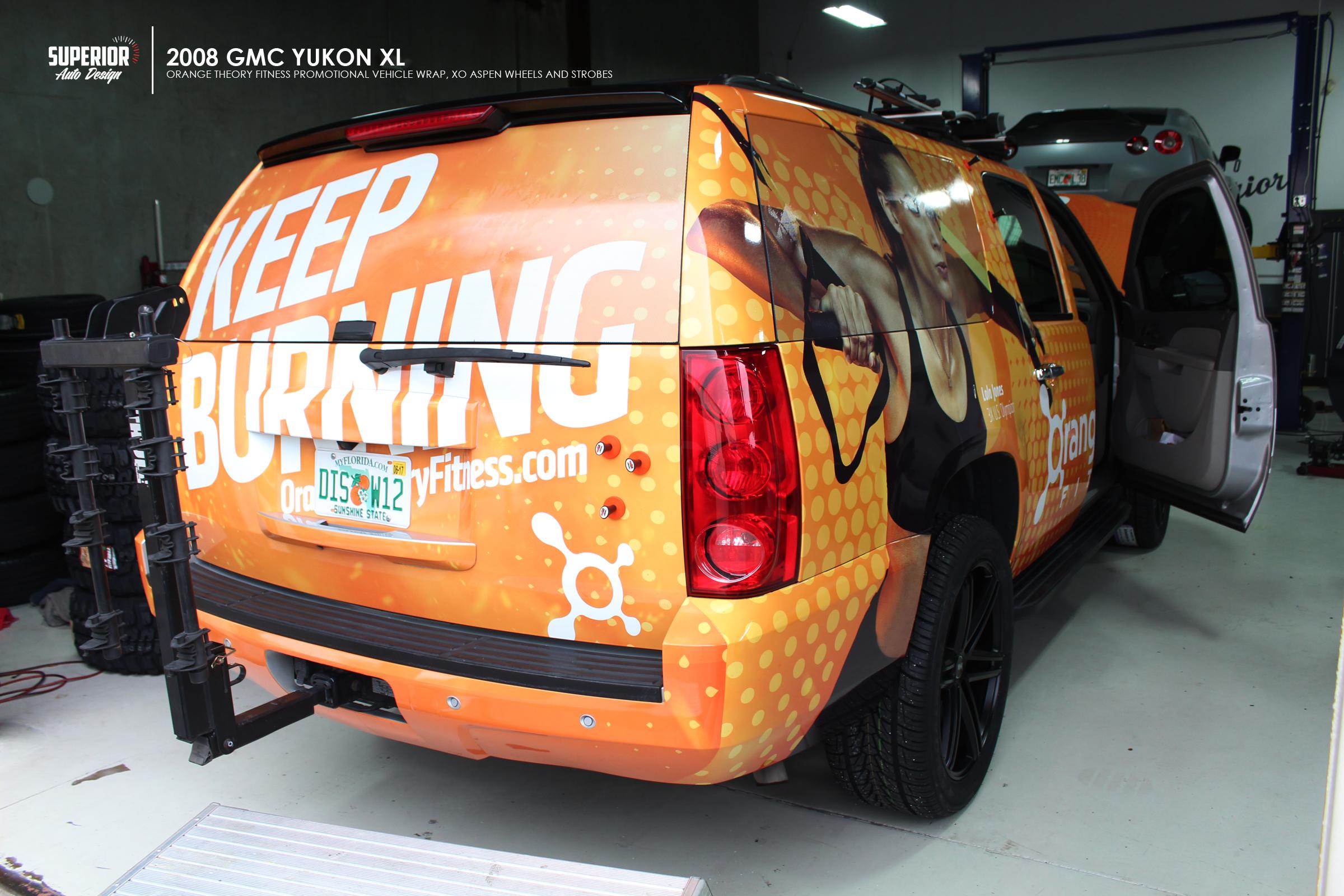 ORANGE THEORY FITNESS YUKON WRAP SUPERIOR AUTO DESIGN 10