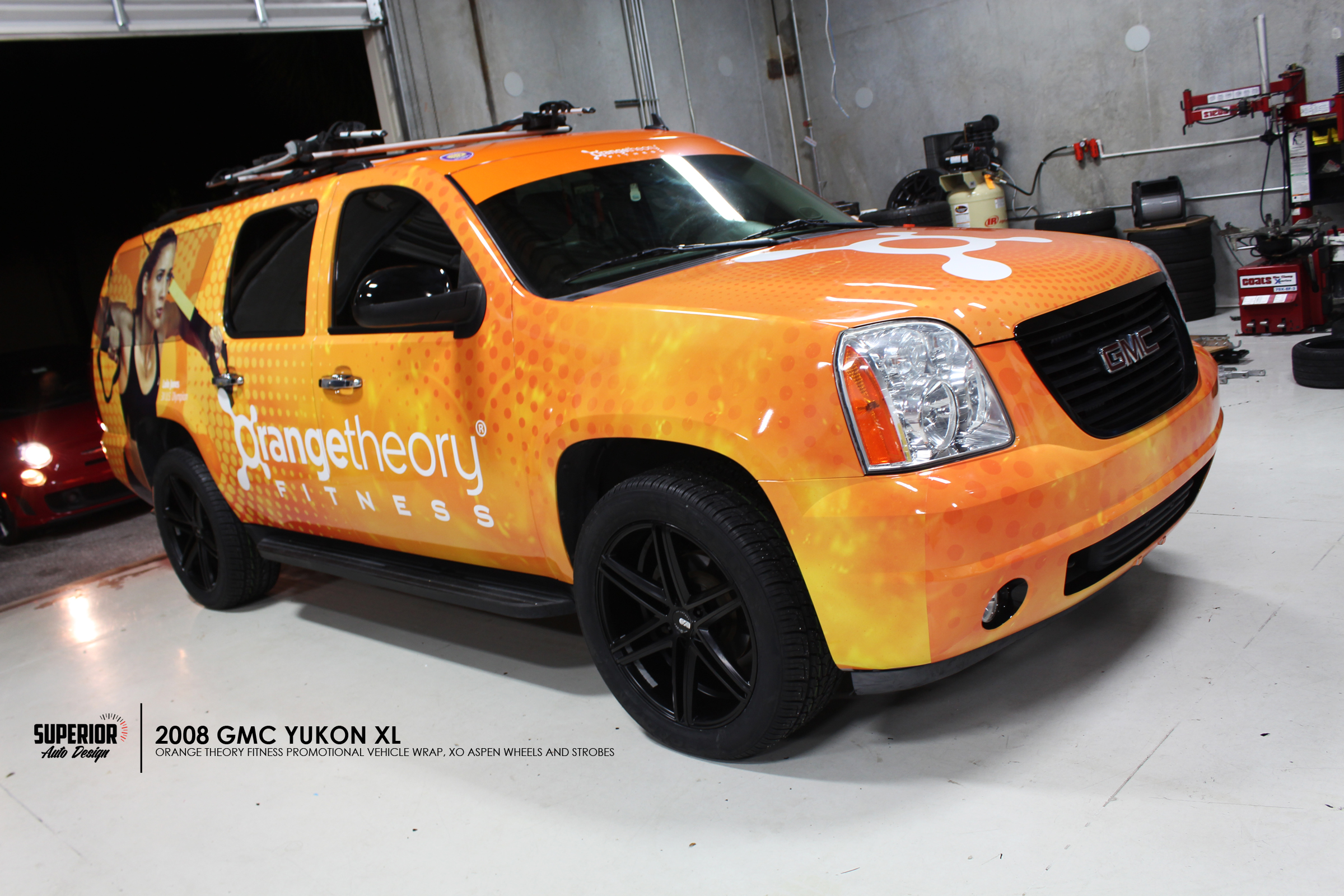 ORANGE THEORY FITNESS YUKON WRAP SUPERIOR AUTO DESIGN 2