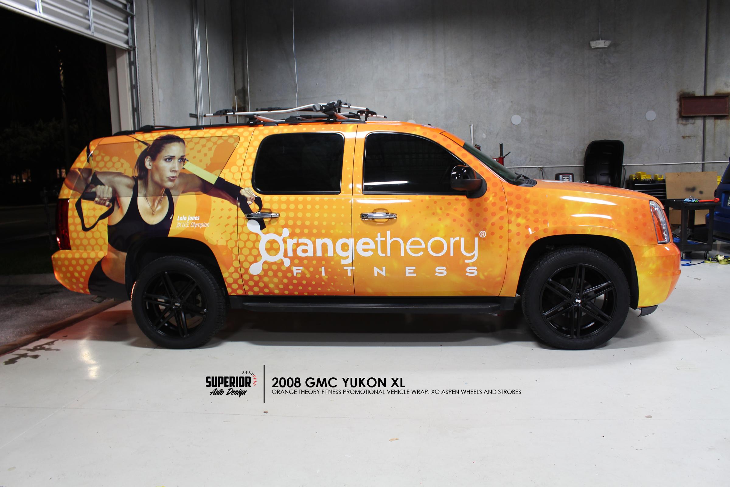 ORANGE THEORY FITNESS YUKON WRAP SUPERIOR AUTO DESIGN 5