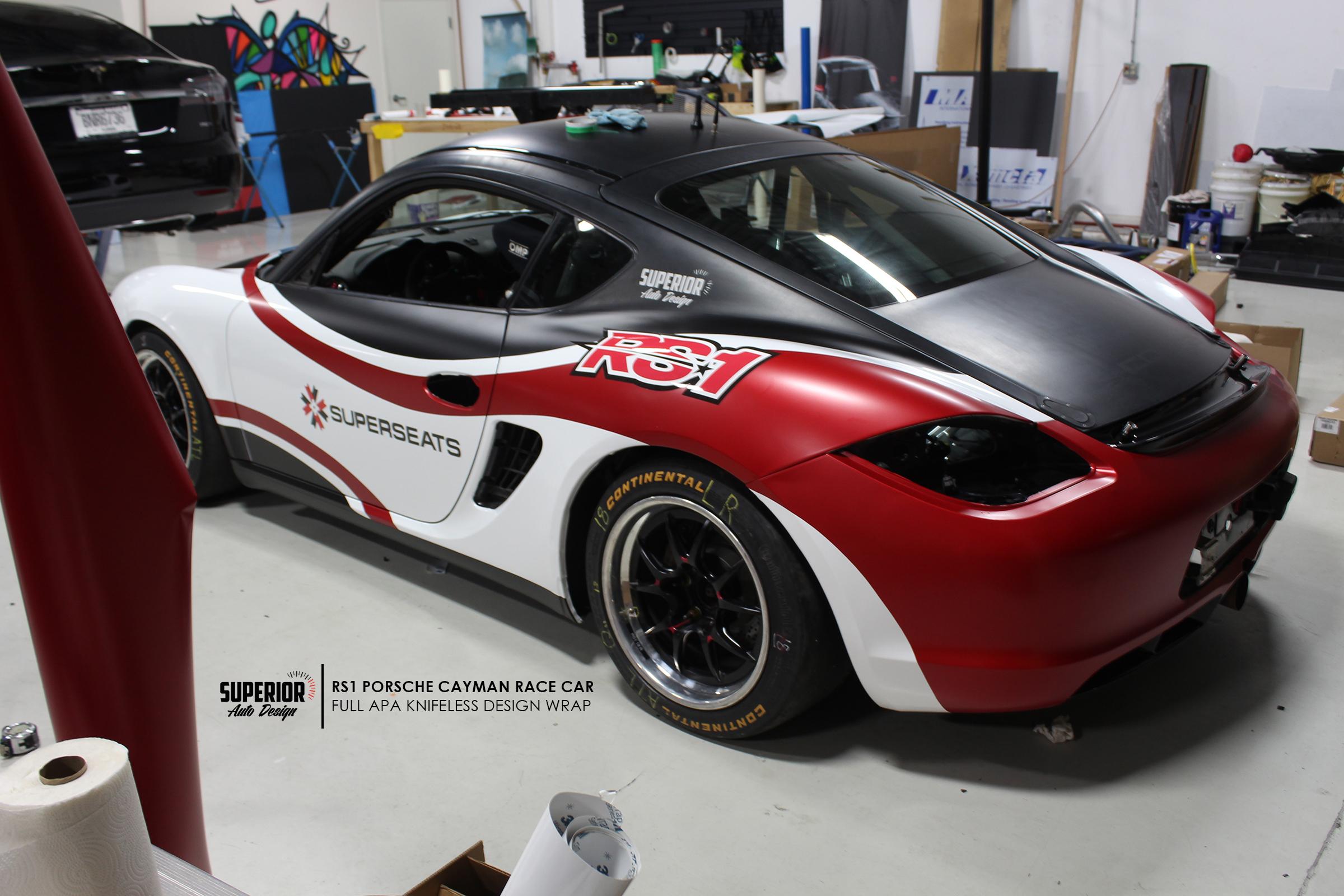 RS1 CAR WRAP APA SUPERIOR AUTO DESIGN 1