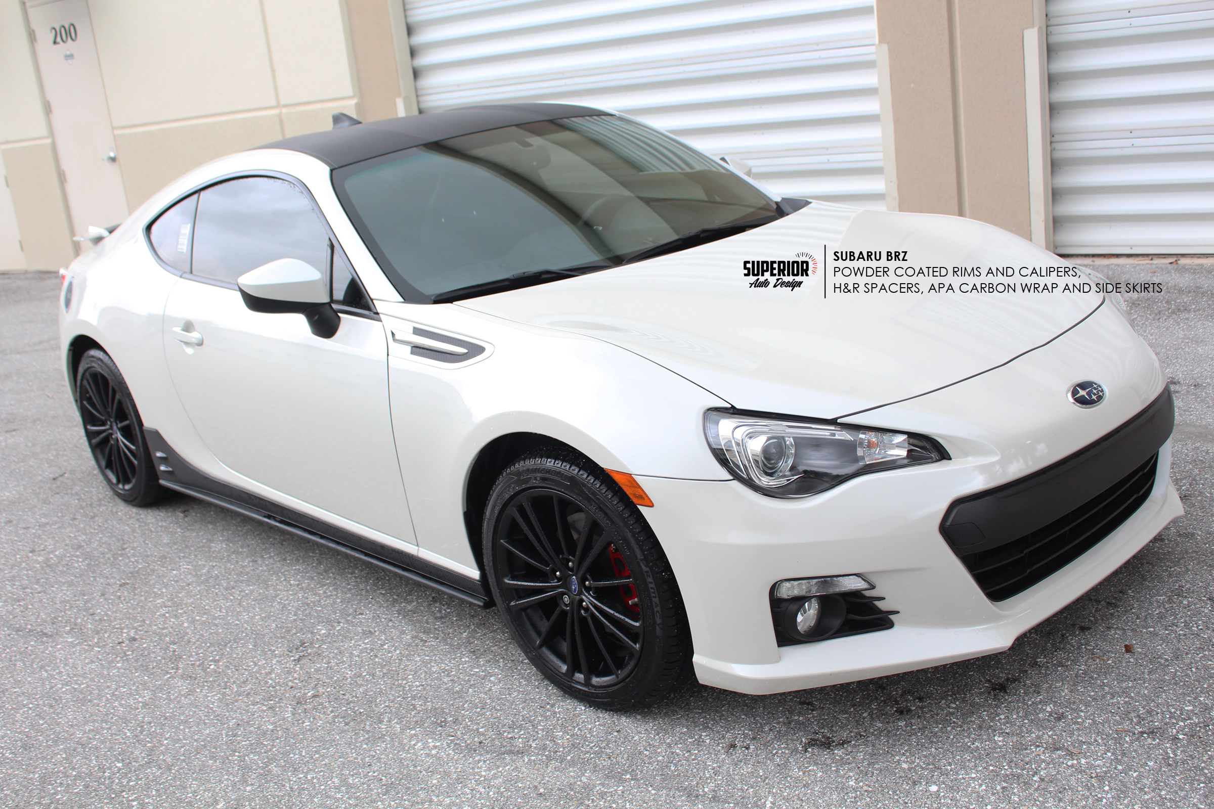SUBARU BRZ WRAP POWDER COAT APA SUPERIOR AUTO DESIGN 2