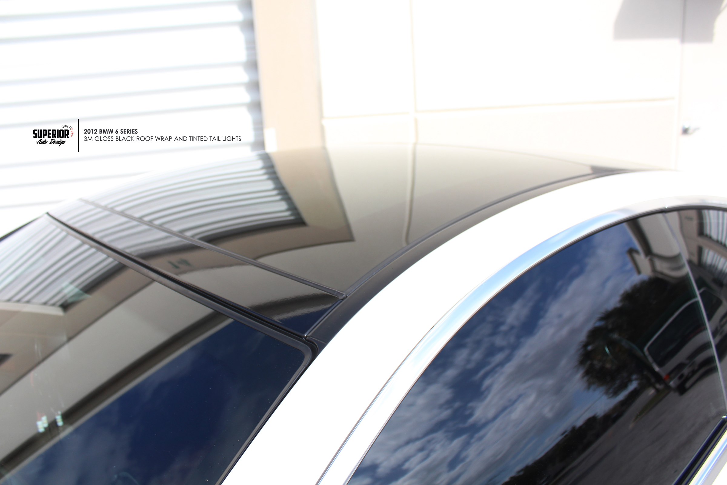BMW 6SERIES ROOF WRAP SUPERIOR AUTO DESIGN 5