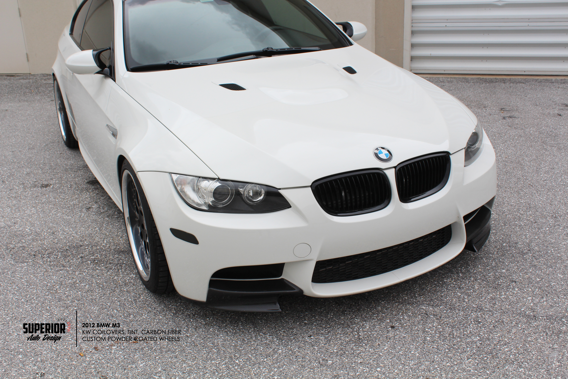 BMW M3 CARBON INSTALL SUPERIOR AUTO DESIGN 1