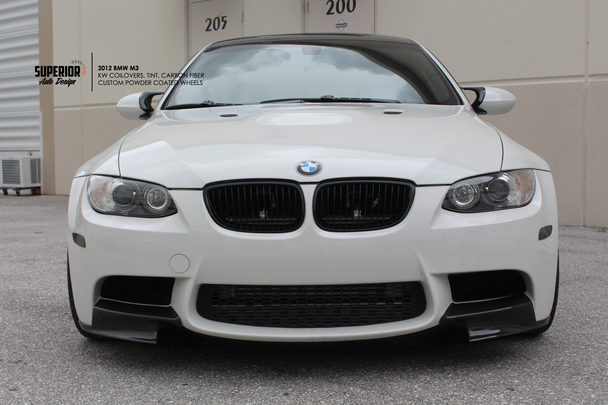 BMW M3 CARBON INSTALL SUPERIOR AUTO DESIGN 2