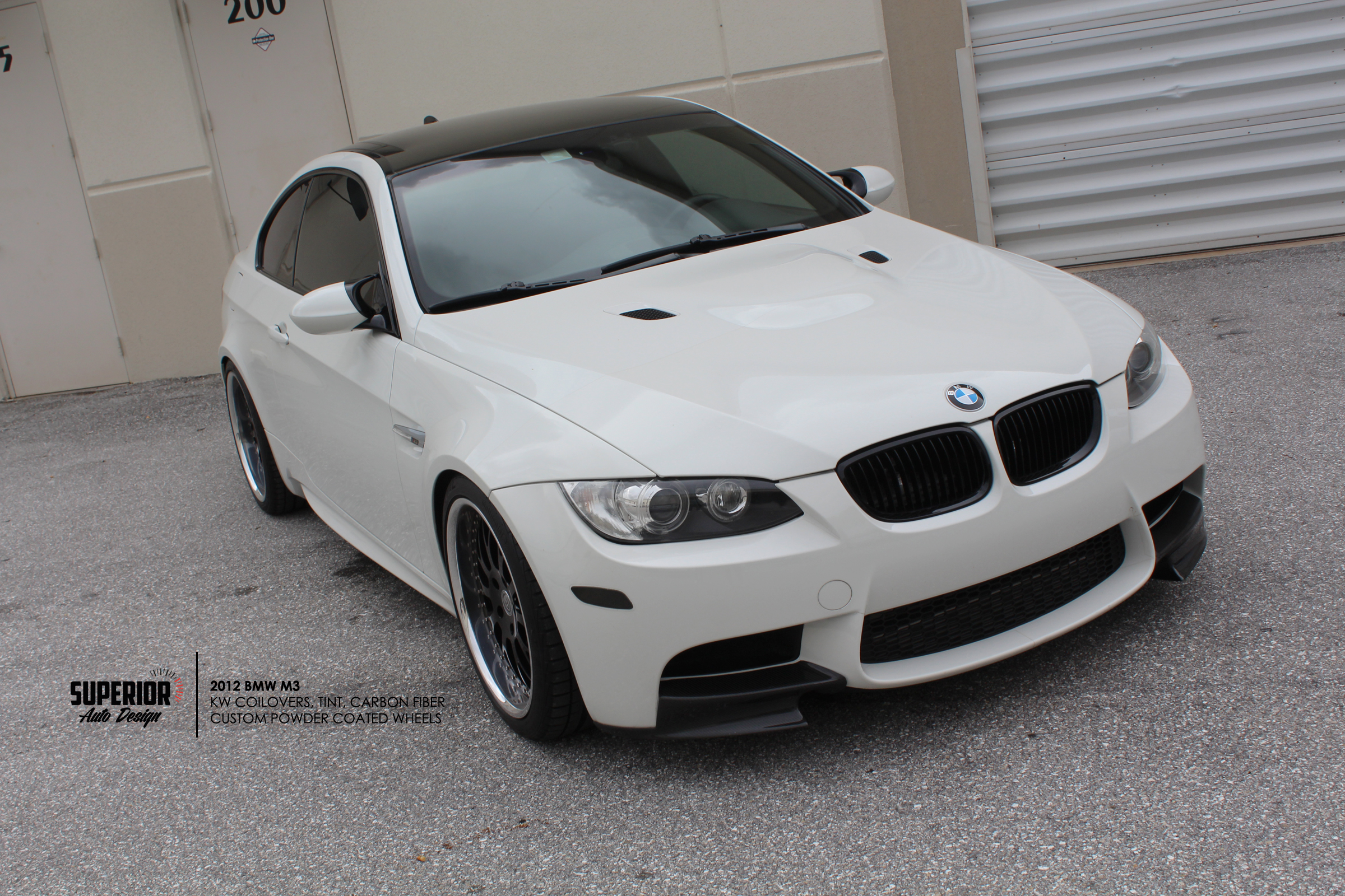 BMW M3 CARBON INSTALL SUPERIOR AUTO DESIGN 3