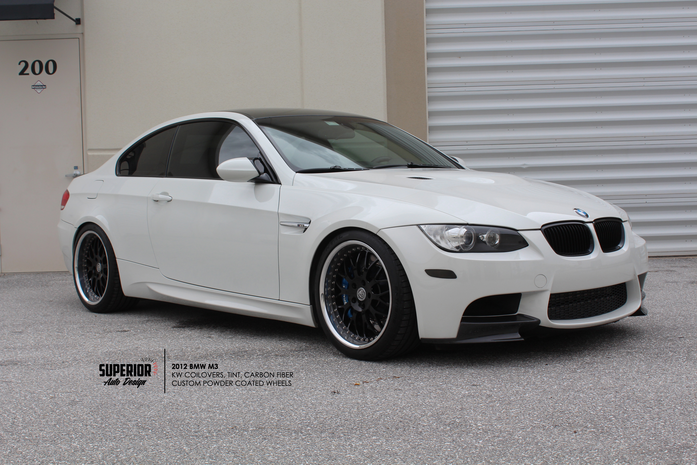 BMW M3 CARBON INSTALL SUPERIOR AUTO DESIGN 4