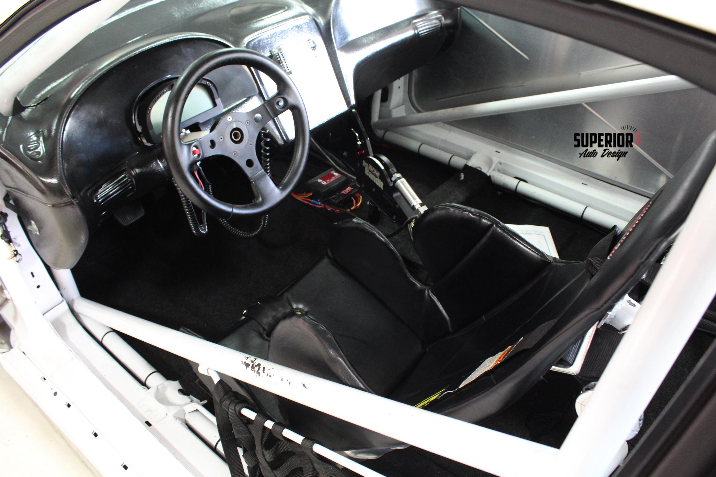MUSTANG RACE CAR TWIN TURBO CARPET SUPERIOR AUTO DESIGN 10