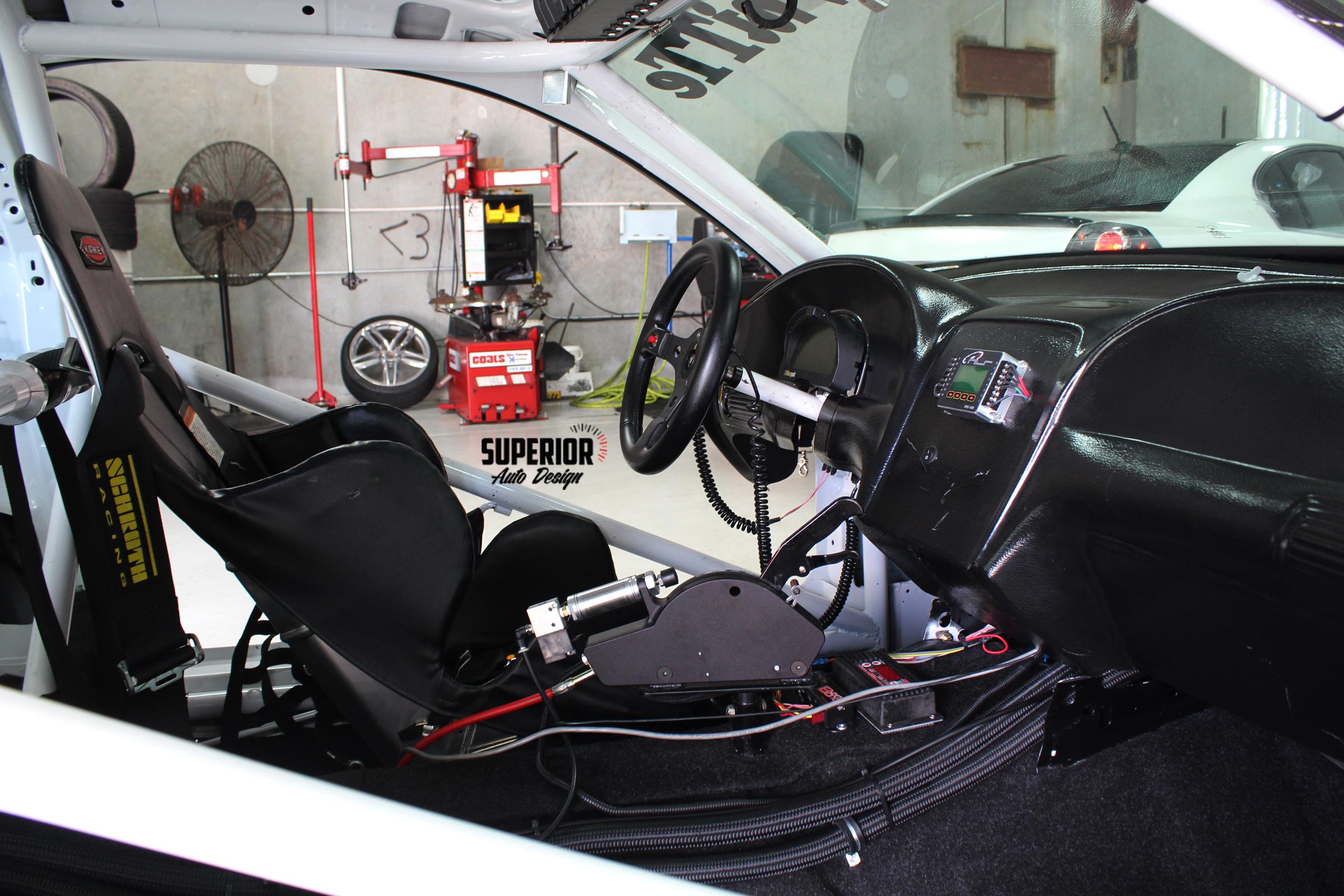MUSTANG RACE CAR TWIN TURBO CARPET SUPERIOR AUTO DESIGN 6