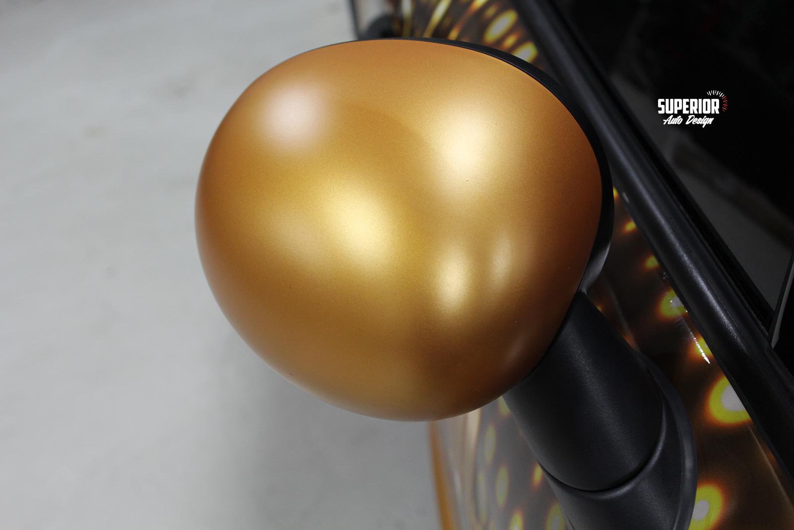 mini cooper goldrush superior auto design 1