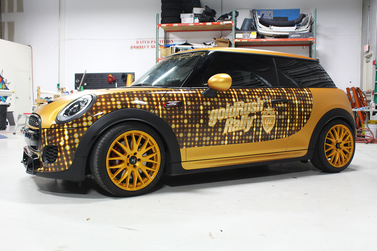 mini cooper goldrush superior auto design 11