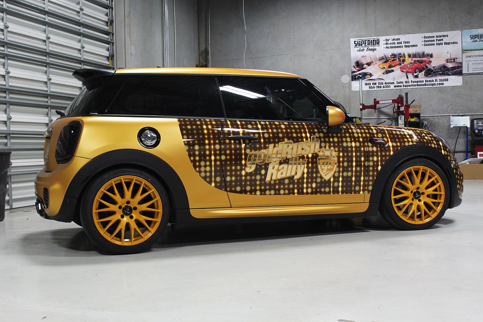 mini cooper goldrush superior auto design 14