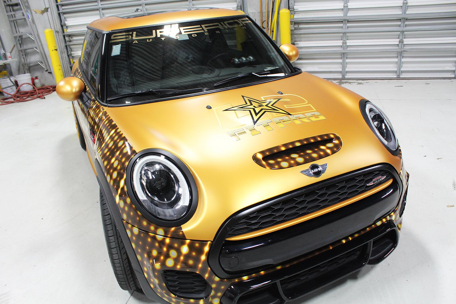 mini cooper goldrush superior auto design 2