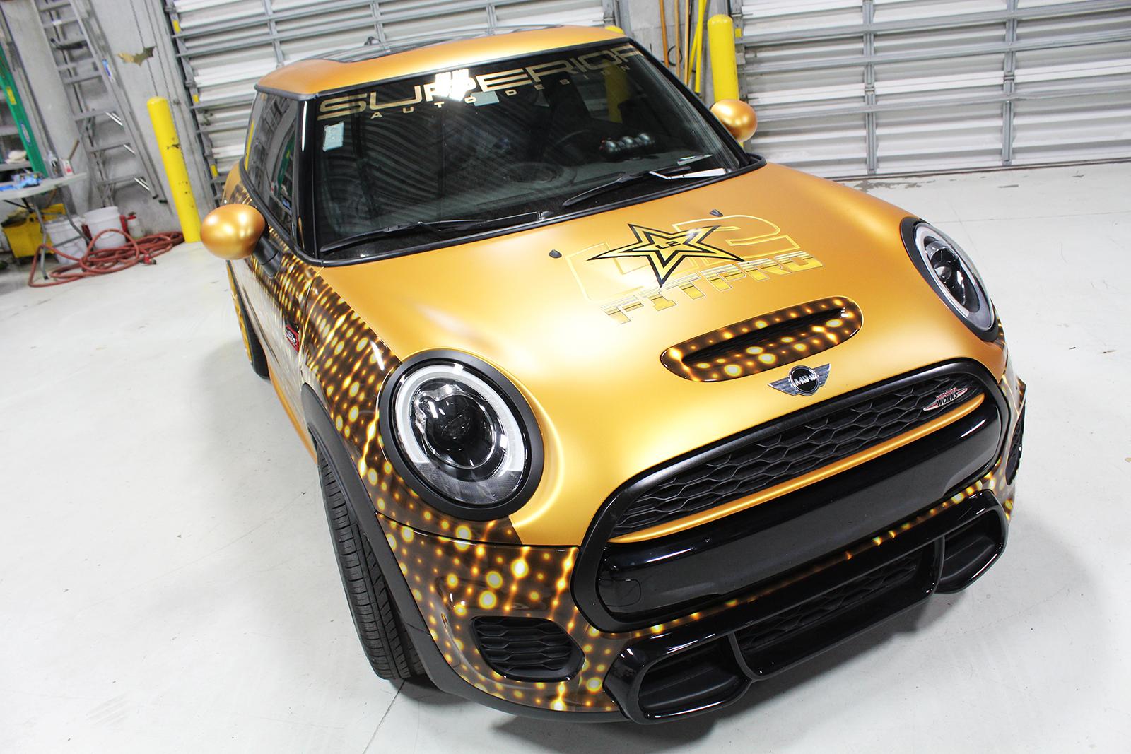 mini cooper goldrush superior auto design 5