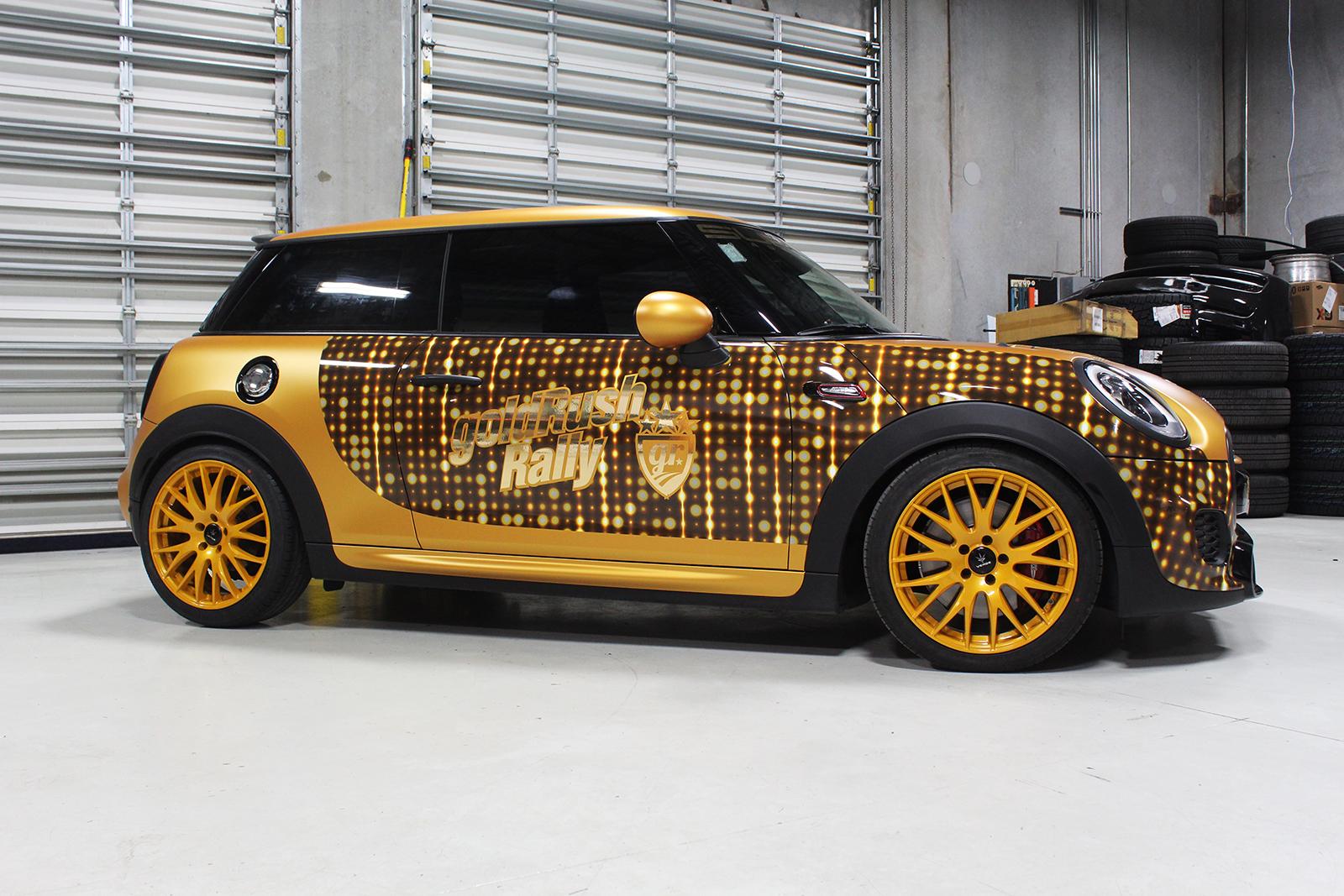 mini cooper goldrush superior auto design 7