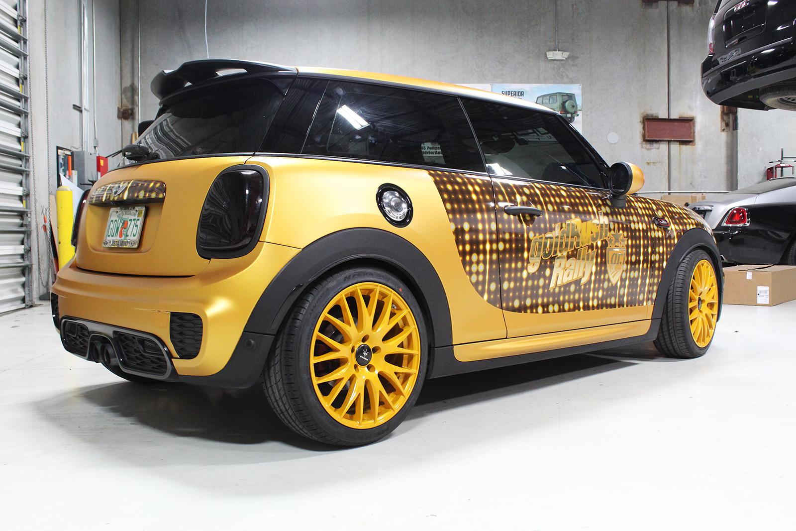mini cooper goldrush superior auto design 9