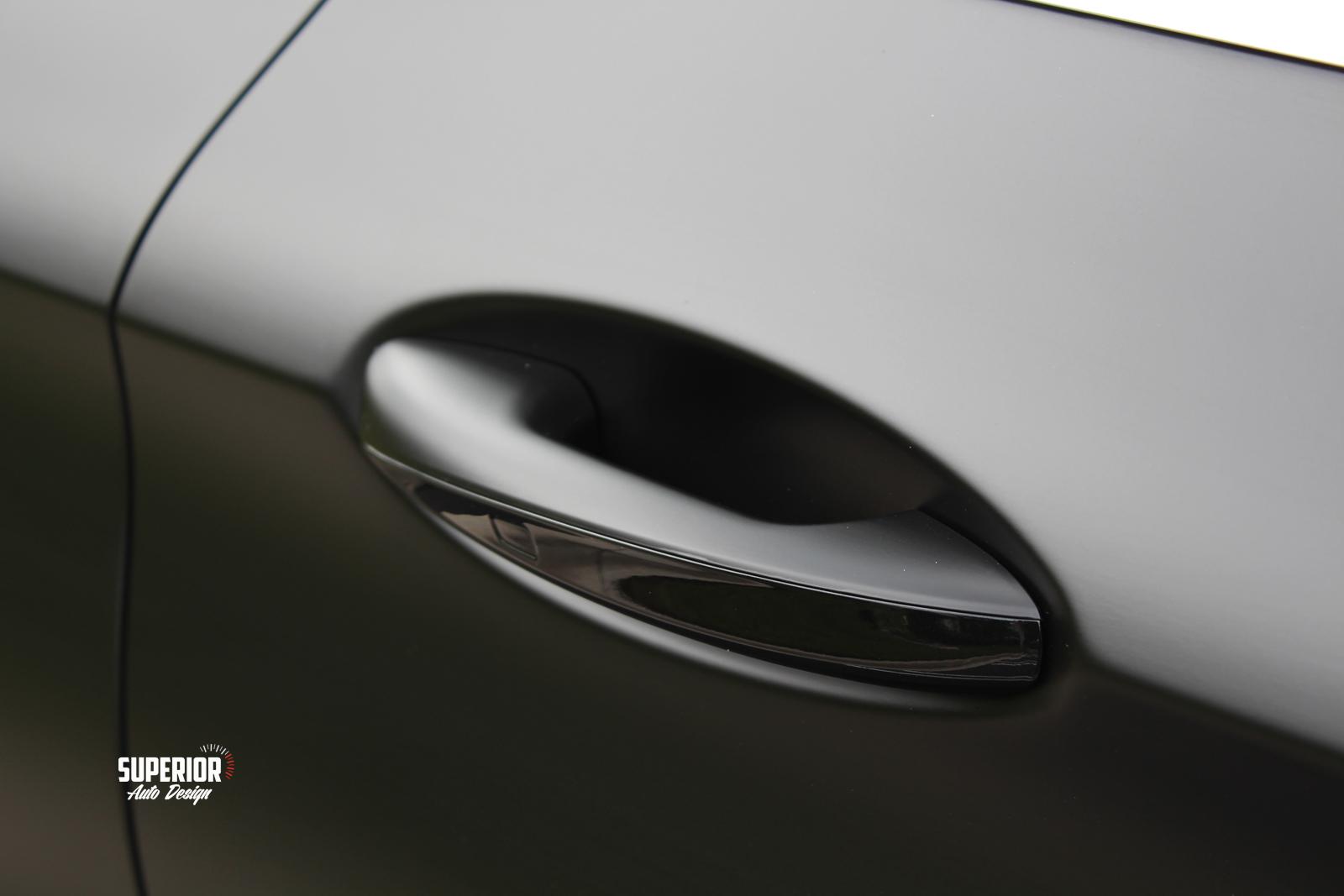 c63 satin black wrap superior auto design 11