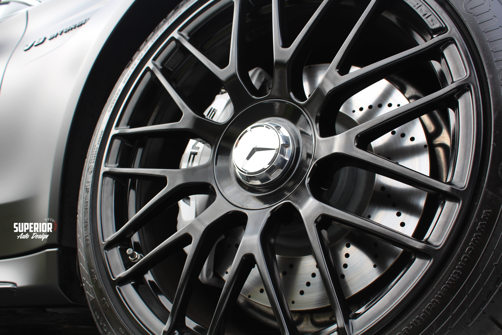 c63 satin black wrap superior auto design 4