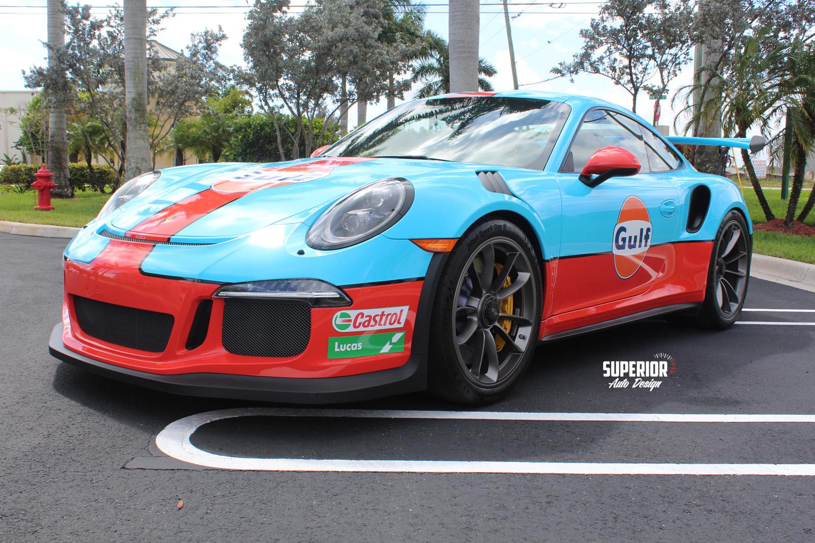 porsche gt3 rs gulf racing wrap superior auto design 10