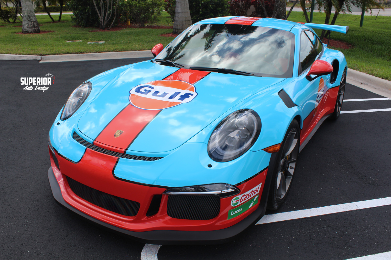 porsche gt3 rs gulf racing wrap superior auto design 16