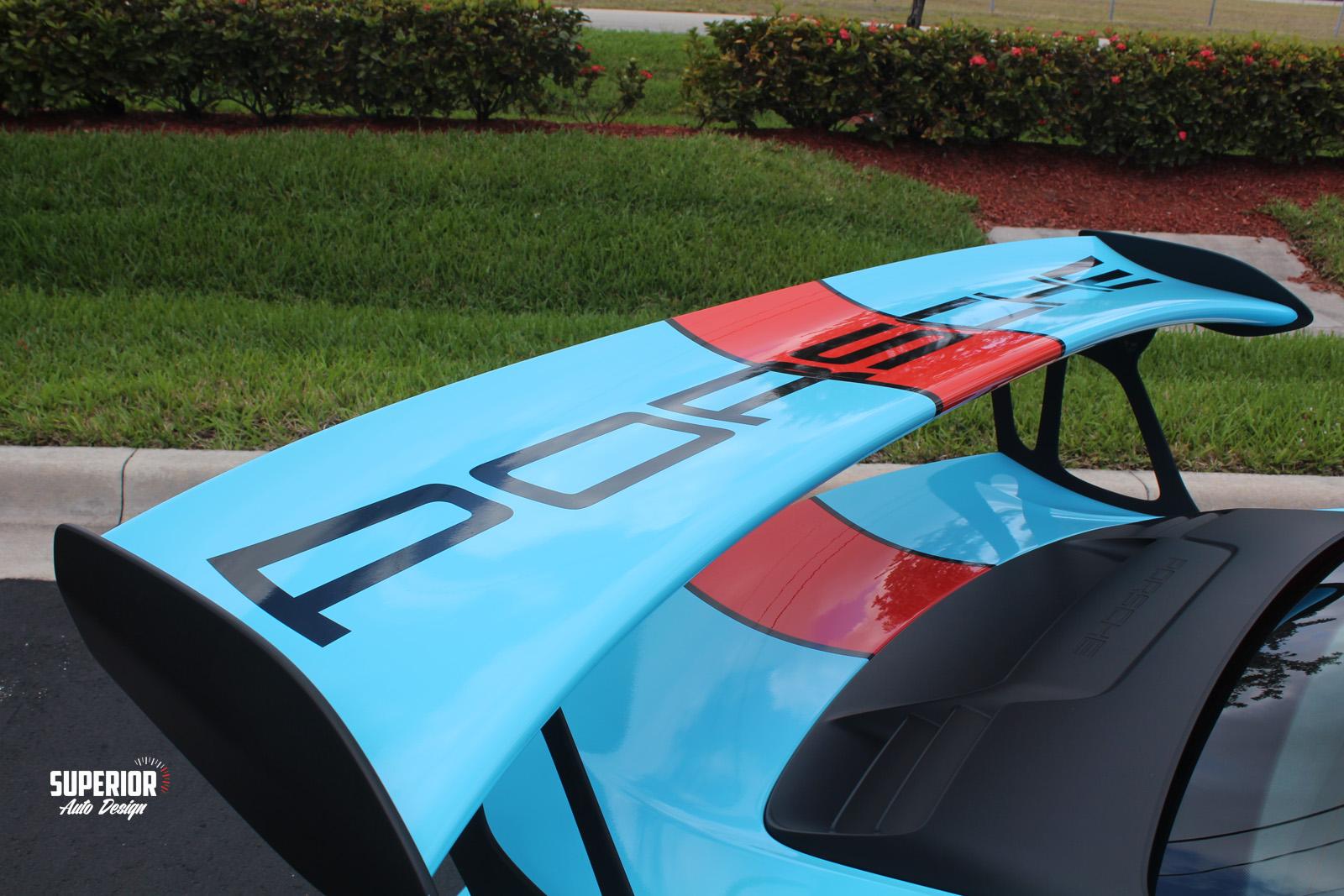 porsche gt3 rs gulf racing wrap superior auto design 19