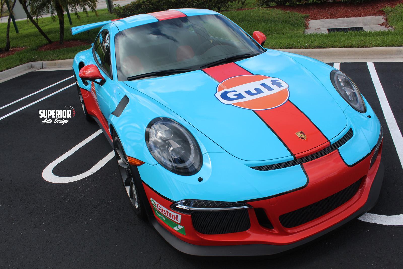 porsche gt3 rs gulf racing wrap superior auto design 2