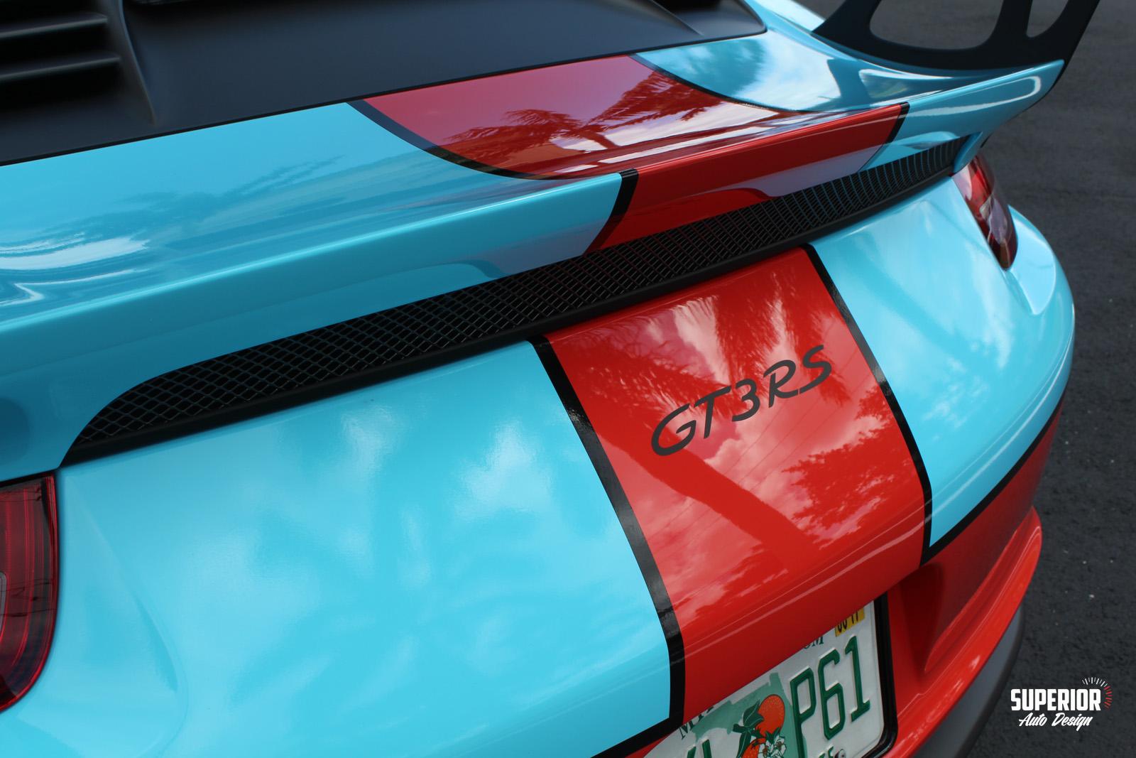 porsche gt3 rs gulf racing wrap superior auto design 20