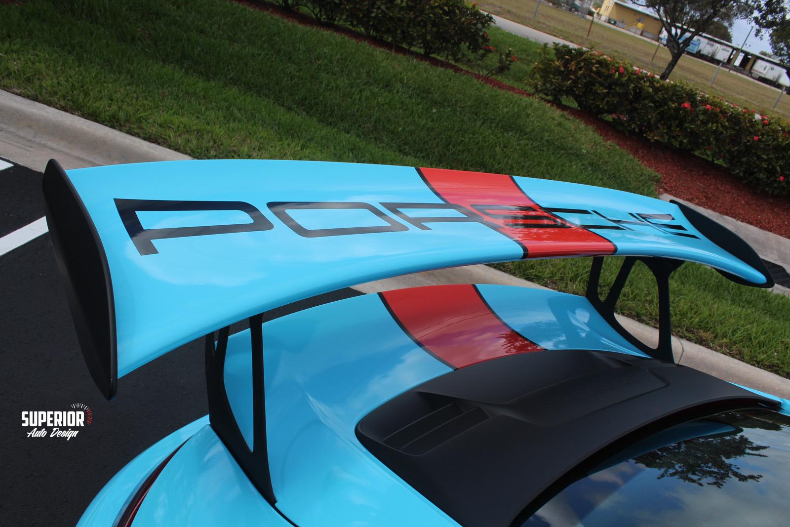 porsche gt3 rs gulf racing wrap superior auto design 7