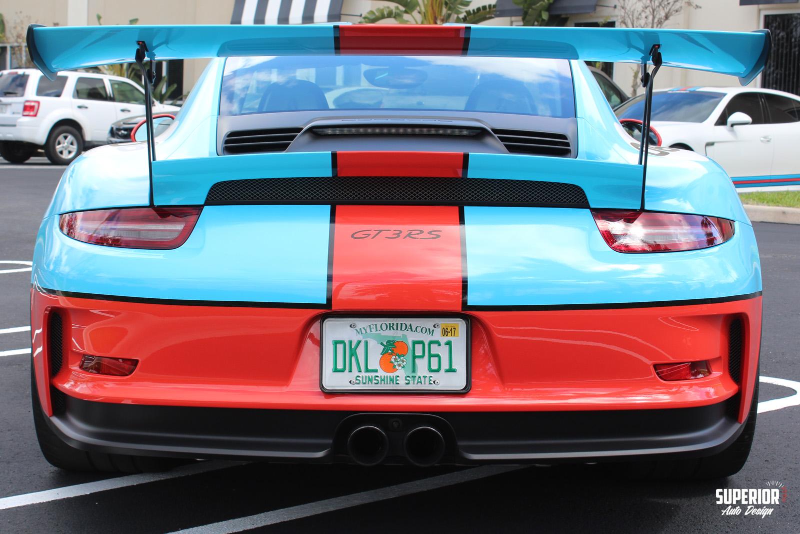 porsche gt3 rs gulf racing wrap superior auto design 8