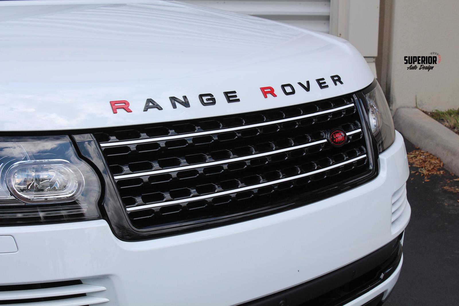 range rover custom paint car wrap superior auto design 4