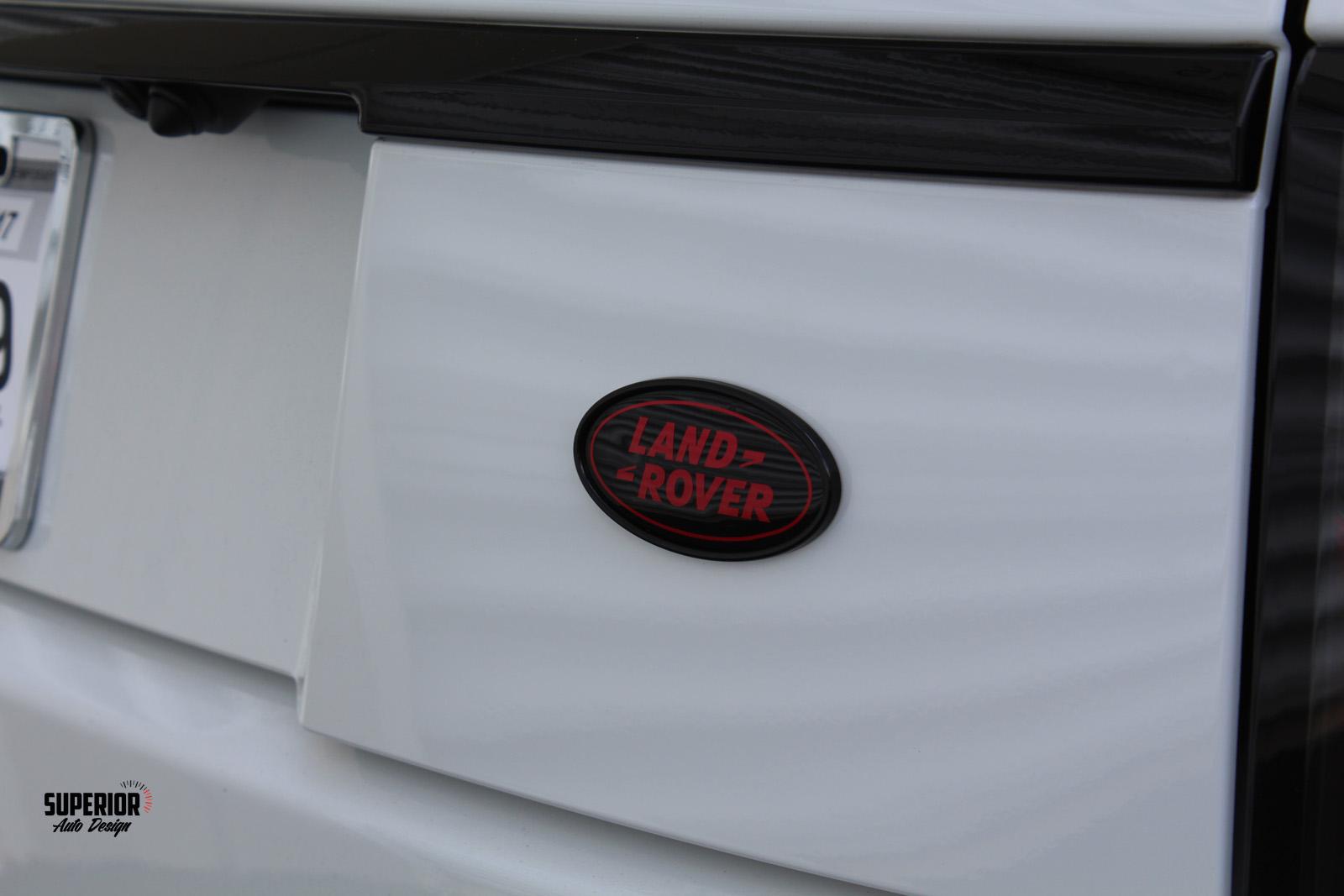 range rover custom paint car wrap superior auto design 6