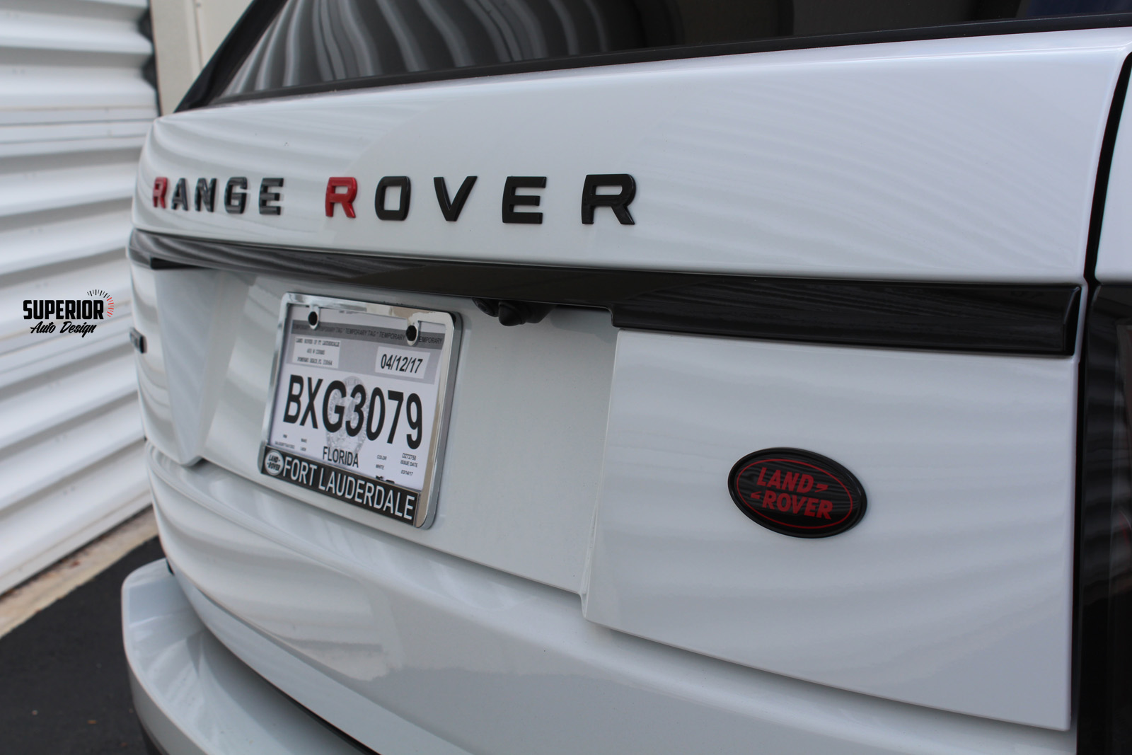 range rover custom paint car wrap superior auto design 7