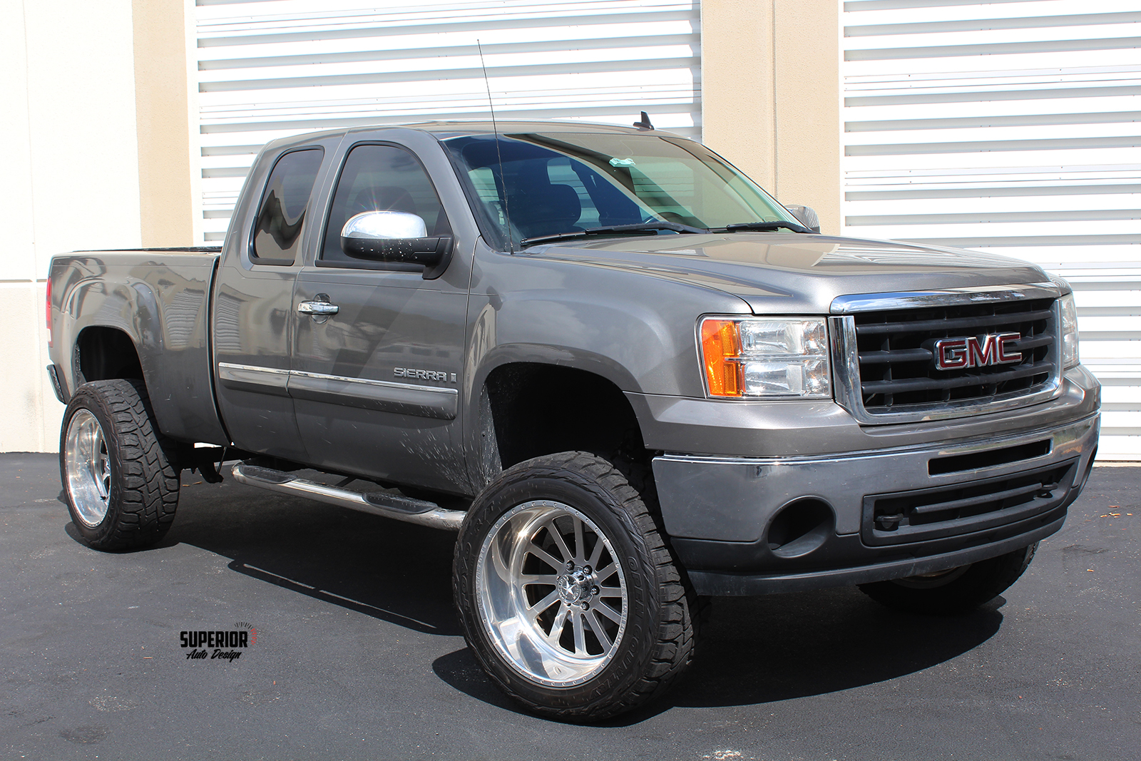 sierra lifted truck superior auto design 1