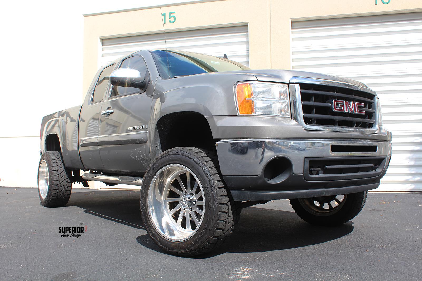 sierra lifted truck superior auto design 5