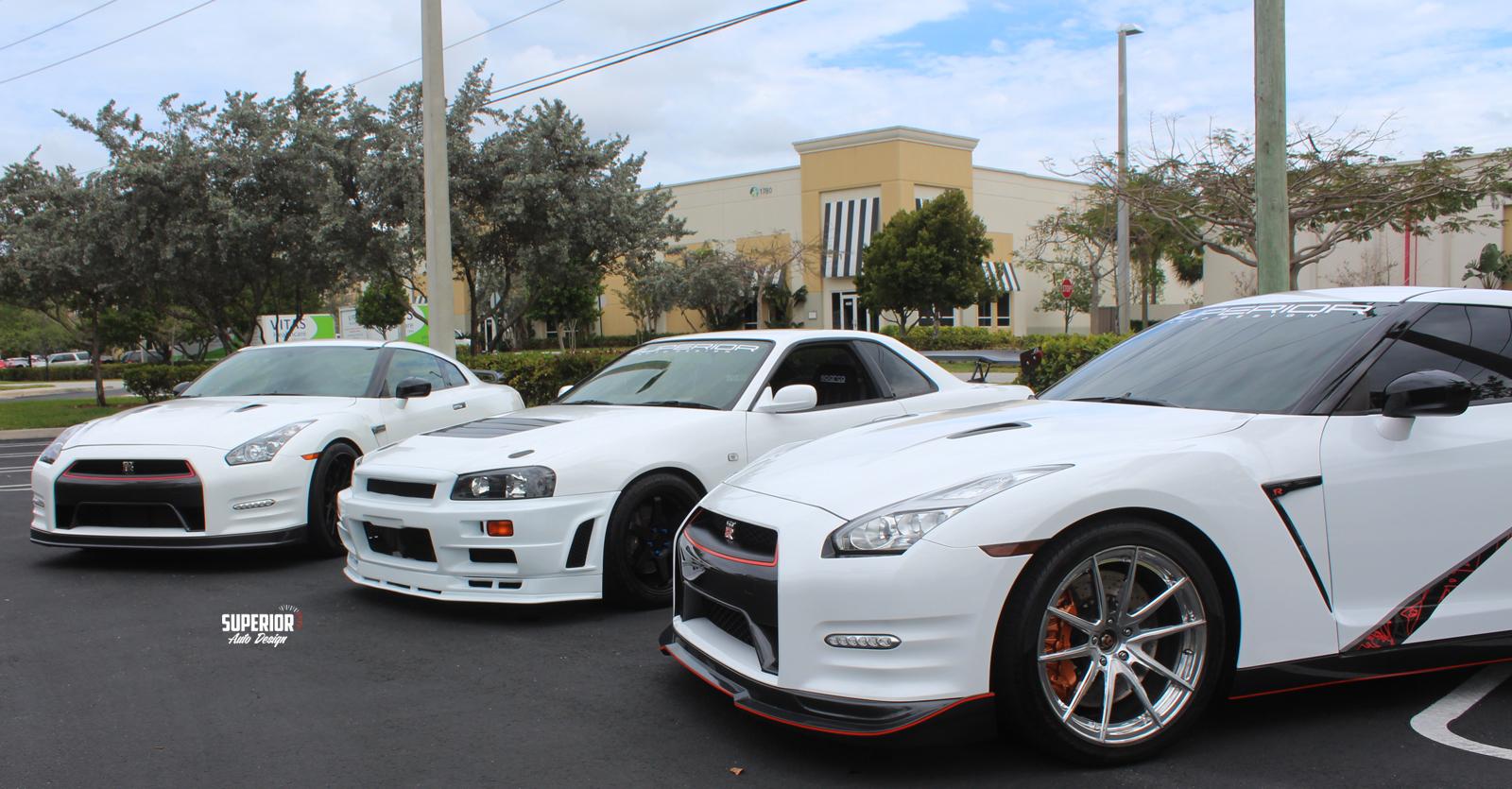 nissan skyline gtr trio superior auto design 1