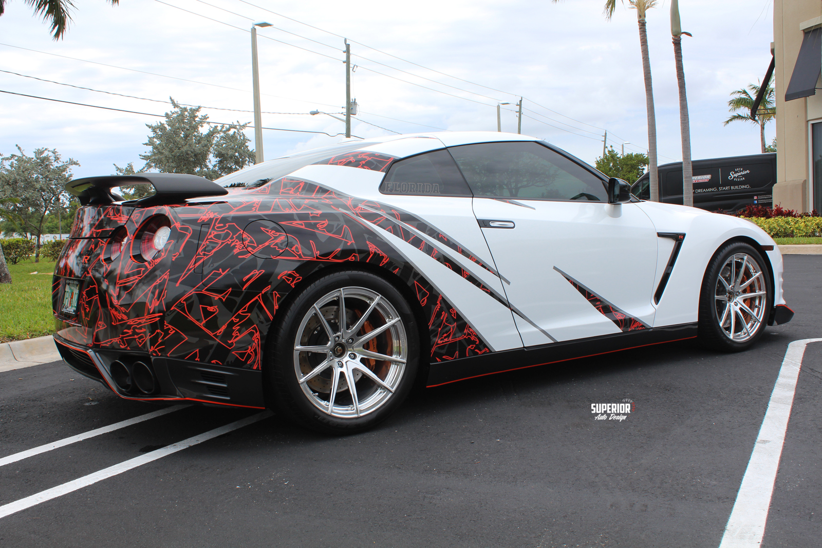race car printed wrap gtr superior auto design 4