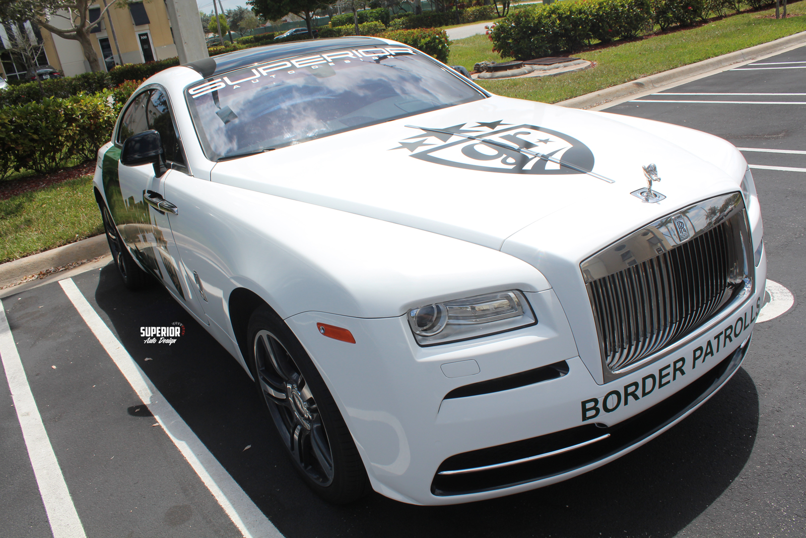 border patrolls rolls royce gold rush superior auto design 8