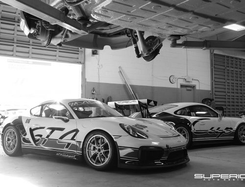 Porsche 991 Cup Car and 981 GT4 Club Sport Customized by Superior Auto Design