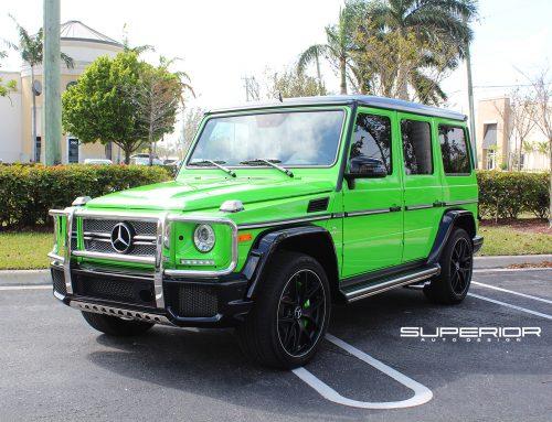 Alien Green Mercedes Benz G65 AMG V12 Biturbo