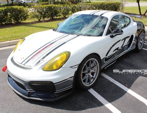 Porsche GT4 Clubsport Custom Livery for MGM Motorsports