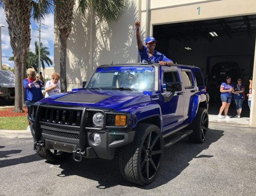 Make-A-Wish Build Hummer H3 Fully Customized Wrap Wheels Custom Audio Powder Coat